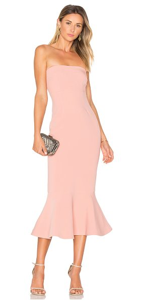 "Cinq A Sept Luna Dress in pink - ""Self: 69% triacetate 31% polyLining: 100% poly. Dry..."
