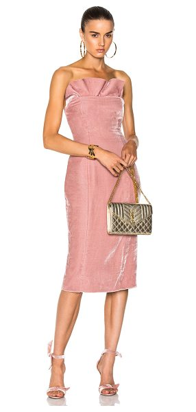 Cinq A Sept Marceau Dress in pink - 82% rayon 18% silk.  Made in China.  Dry clean only. ...
