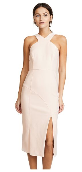 Cinq A Sept melina dress in cinq pink - Sculpted seams trace the figure-hugging silhouette of...