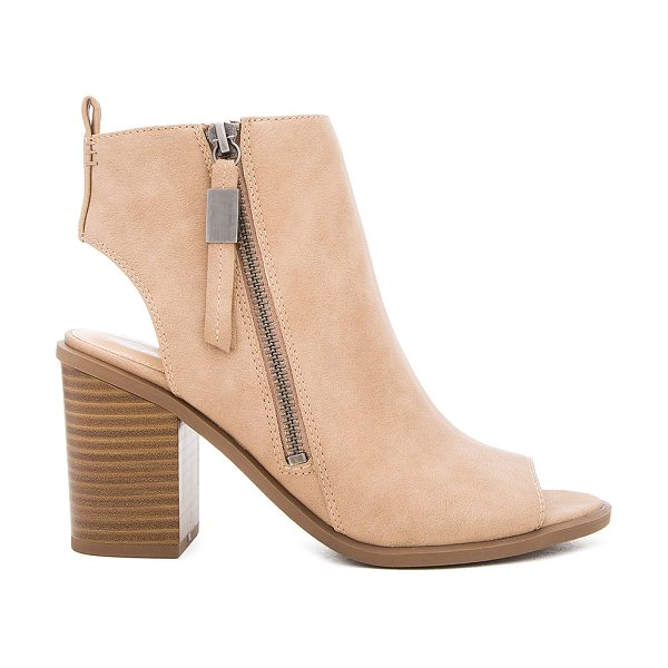 Circus by Sam Edelman Kammi Bootie in taupe - Faux leather upper with man made sole. Side zip closure....