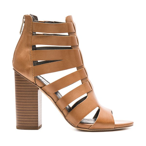 Circus by Sam Edelman York Heel in tan - Man made upper and sole. Caged cut-out detail...