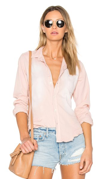 Citizens of Humanity Barry Button Down in rose quartz - 100% cotton. Front button closure. Chest patch pocket....