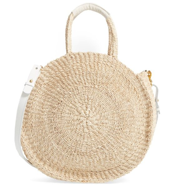 CLARE V. alice sisal tote - This round, roomy tote is handwoven from sisal fiber by...
