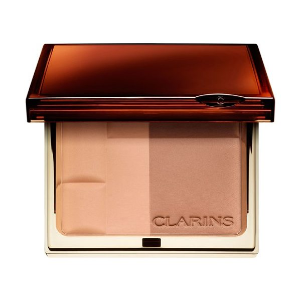 Clarins Bronzing powder duo spf 15 in light - Sun in powder form: Three mineral-enriched bronzing duos...