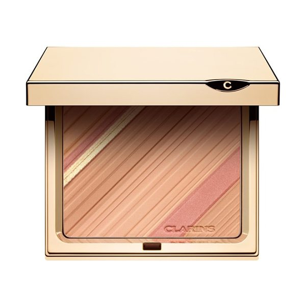 Clarins Graphic expression face & blush powder palette in no color