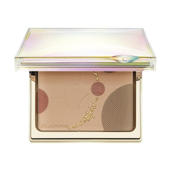 Clarins Luminous face palette in no color - Clarins brings you a palette of three silky powders that...