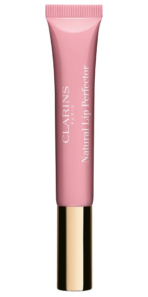 Clarins natural lip perfector lip gloss in toffee pink shimmer 07