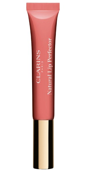 Clarins natural lip perfector lip gloss in candy shimmer 05
