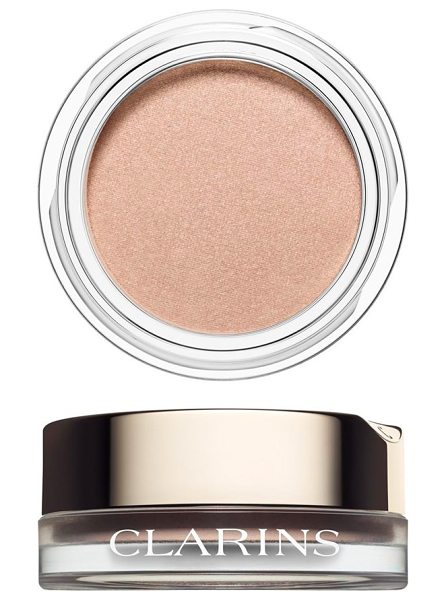 Clarins ombre matte cream-to-powder matte eyeshadow in 02 nude pink - What it is: A cream-to-powder matte eyeshadow. What it...
