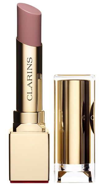 Clarins rouge eclat lipstick in sweet rose - What it is: A luminous, lip-caring formula for kissable,...