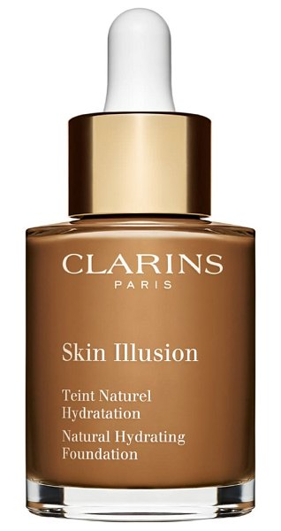 Clarins skin illusion natural hydrating foundation in chocolate