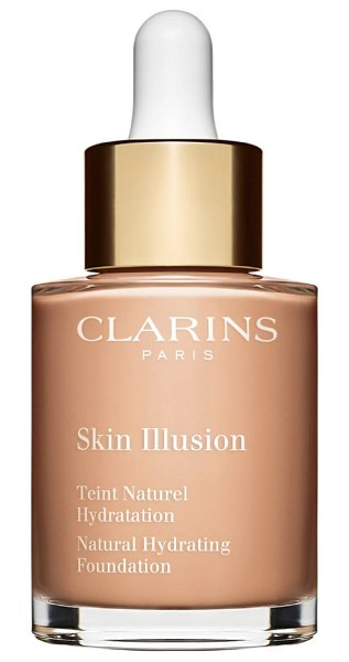 Clarins skin illusion natural hydrating foundation in beige