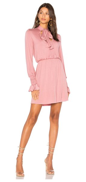 Clayton Camden Dress in pink - 95% viscose 5% spandex. Hand wash cold. Unlined....