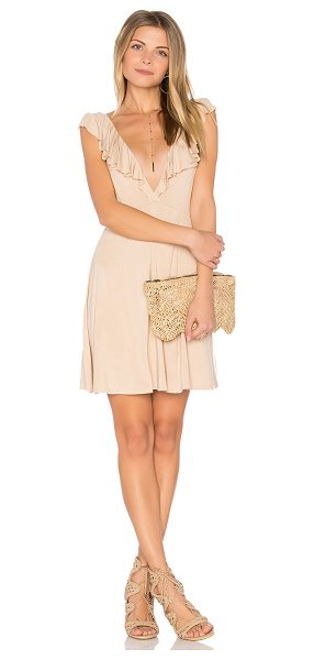 Clayton Clive Dress in beige
