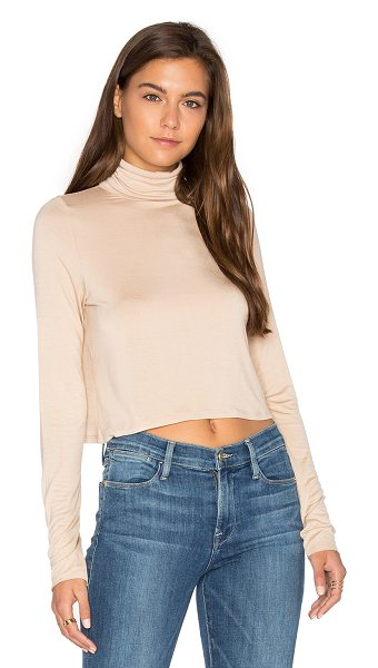 Clayton Kristin Top in bare - 95% viscose 5% spandex. Hand wash cold. Jersey knit...