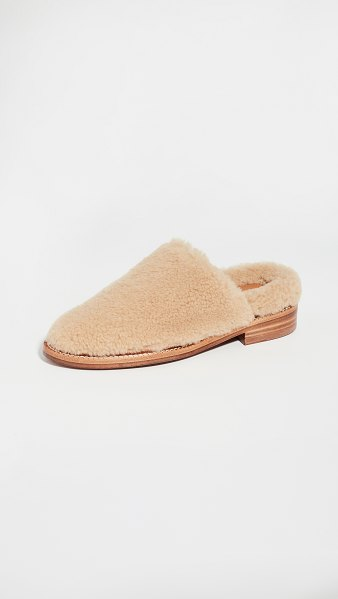 Clergerie gillief loafers in natural