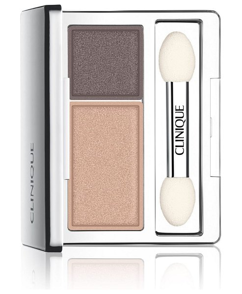 Clinique all about shadow eyeshadow duo in neutral territory