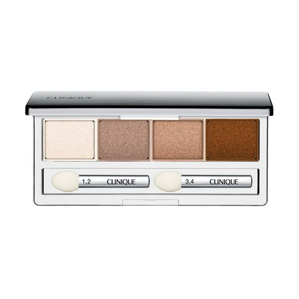 Clinique All about shadow eyeshadow quad in teddy bear - Clinique All About Shadow Eyeshadow Quad is a versatile,...
