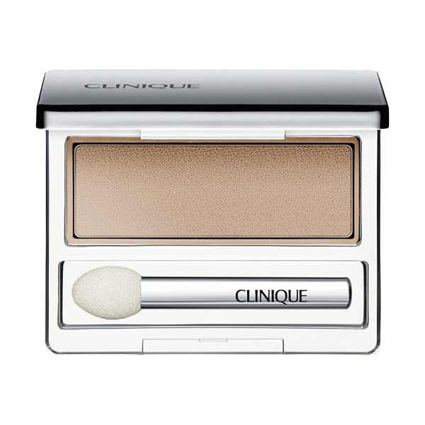 Clinique all about shadow shimmer eyeshadow in french vanilla - Clinique All About Shadow Eyeshadow features a creamy,...
