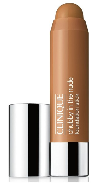 Clinique chubby in the nude foundation stick in ample amber - What it is: A creamy stick foundation for full-face...