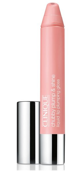 Clinique chubby plump & shine liquid lip plumping gloss in pink & plenty - What it is: A moisture-rich, liquid lip-plumping gloss...