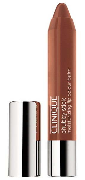 Clinique chubby stick moisturizing lip color balm in heaping hazelnut