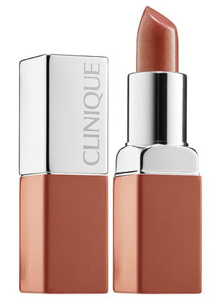 Clinique pop lip colour + primer 1 nude pop 0.13 oz/ 3.8 g - A rich, weightless formula that fuses bold, saturated...