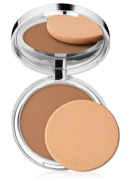 Clinique stay-matte sheer pressed powder in stay nutmeg