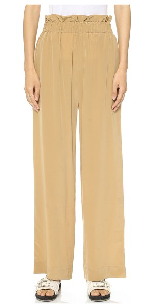 CLUB MONACO Arya pants - Voluminous Club Monaco pants in elegant silk crepe....