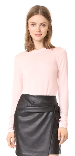 Club Monaco mackenzie sweater in lotus pink - This lightweight Club Monaco sweater has an easy,...