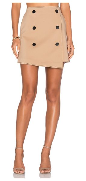 C/MEO All Falls Down Skirt - Main: 53% cotton 44% nylon 3% elastaneLining: 100% poly....