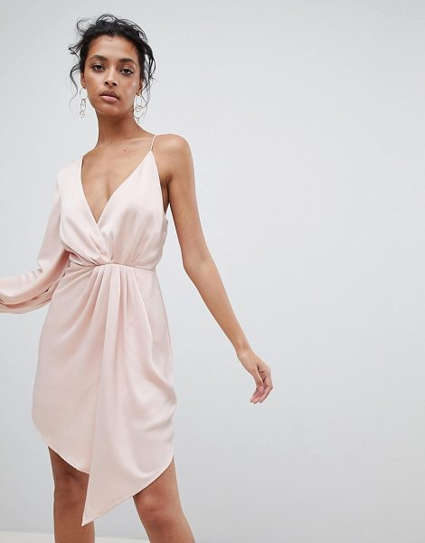 C/Meo Collective asymmetric dress in shell - Dress by C/meo Collective, Take that dress code up a...