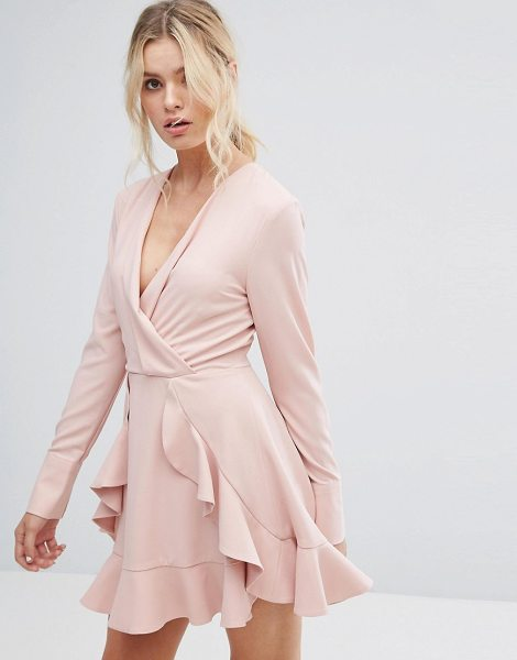 """C/MEO COLLECTIVE C/Meo Collective Ultralight Long Sleeve Ruffle Dress - """"""""Dress by C/meo Collective, Super-lightweight woven..."""