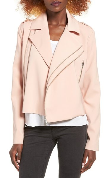 C/Meo Collective love lost jacket in shell - The perfect draped layer for any polished look, this...