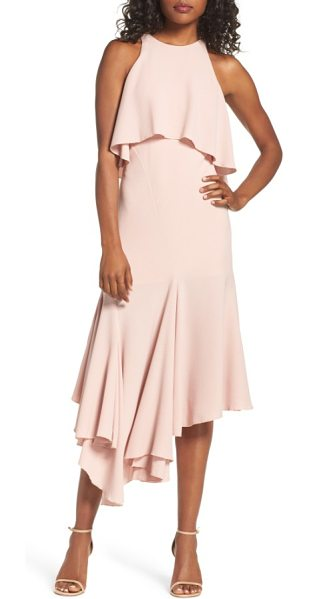 C/Meo Collective divergent popover dress in dusty pink - Bold, modern style meets ladylike grace on this...