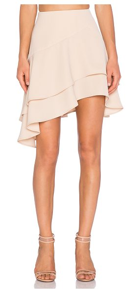 """C/MEO Easy love skirt in peach - 100% poly. Hand wash cold. Skirt measures approx 22"""""""" in..."""