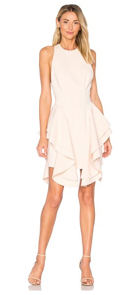 C/MEO Enlighten Mini Dress in peach - Self & Lining: 100% poly. Hand wash cold. Fully lined....