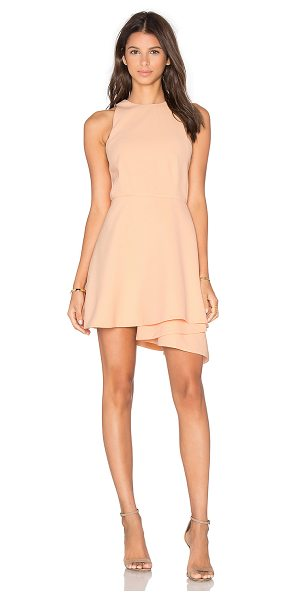 C/MEO Fools Gold Party Dress in blush - Self & Lining: 100% poly. Hand wash cold. Fully lined....