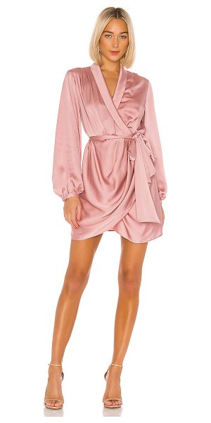 C/MEO no time dress in dusty pink