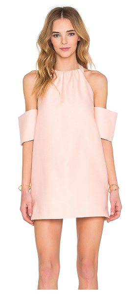 C/MEO Perfect Lie Dress in pink - Self, Combo & Lining: 100% poly. Hand wash cold. Fully...