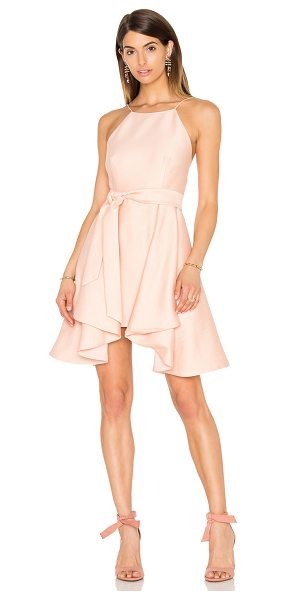 C/MEO Two Can Win Dress in blush - Self & Lining: 100% poly. Hand wash cold. Fully lined....
