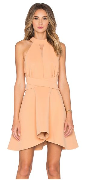 C/MEO x REVOLVE Breaking Hearts Dress in tan - Main & Lining: 100% poly. Dry clean only. Fully lined....
