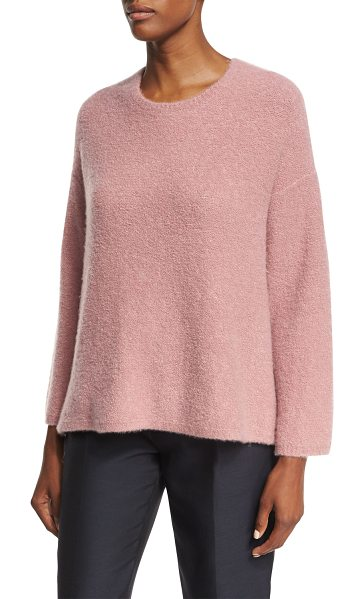 CO. Tie-Back Bell-Sleeve Sweater - Co sweater in textured crepe knit. From the Fall 2017...