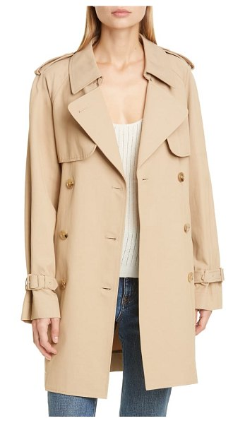 Co. trench at in beige