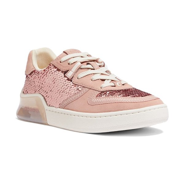 COACH citysole court sneaker in pink