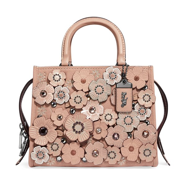 8acfe9a7a COACH Rogue 25 Crystal Tea Rose Tote Bag | Nudevotion