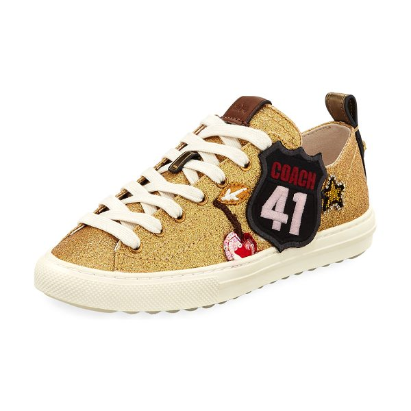 COACH C121 Route 41 Patch Sneakers 2LuolmSPP