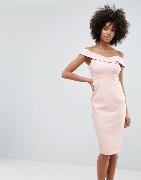 Coast Neutral Sexy Dress in pink
