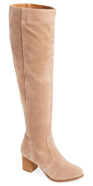 Coconuts by Matisse sweetie over the knee boot in brown