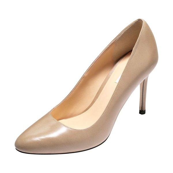 "COLE HAAN Bethany almond-toe leather pump - Cole Haan ""Bethany"" almond-toe pump in smooth leather...."